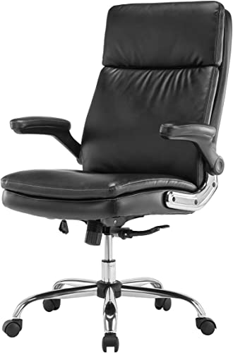 KERMS High Back Office Chair PU Leather Executive Desk Chair