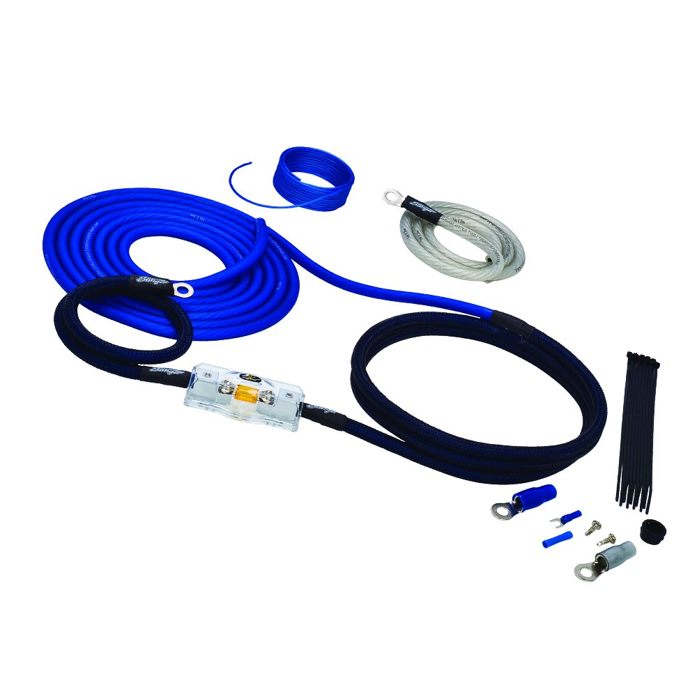 Stinger SK6241 4 Gauge 6000 Series Power Amplifier Installation Kit STIY7