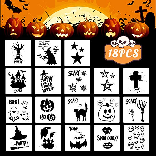 Incredible Halloween Stencils!