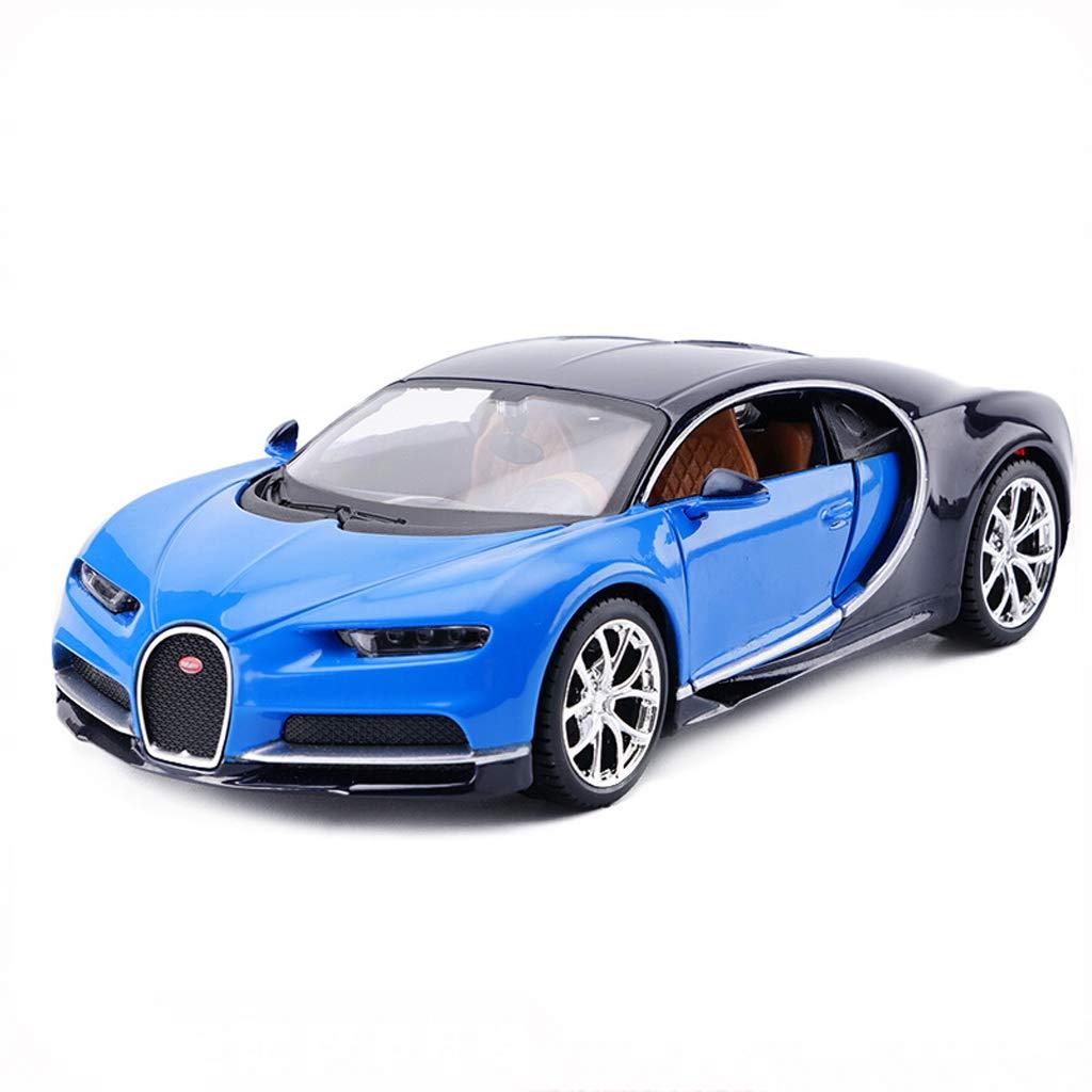 DUWEN Modello Car Bugatti Veyron Modello di Auto 1 24 Emulazione Modello di Auto Sportiva in Lega Giocattolo Modello di Auto Collezione Ornamenti