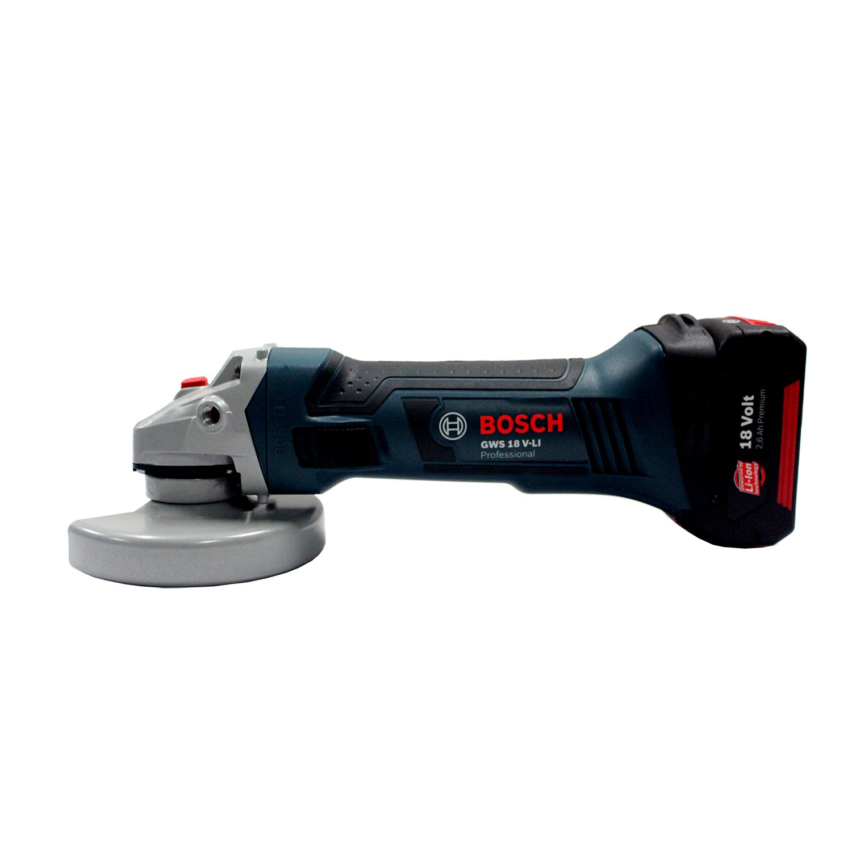 Bosch Professional GWS 18 V-LI Meuleuse d angle (Outil nu, sans batterie ni  chargeur)  Amazon.fr  Bricolage 28113bfeb587