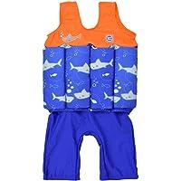 Splash About Kids Short John Floatsuit with Adjustable Buoyancy Traje Flotador, Bebé-Niños