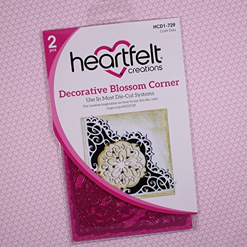 Heartfelt Creations Cut And Emboss Dies, Multi-colour, 0.63 x 13.33 x 29.21cm