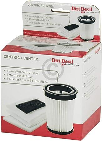 Conjunto de filtros Filtro aspirador de polvo Devil 2828001 M2827 ...