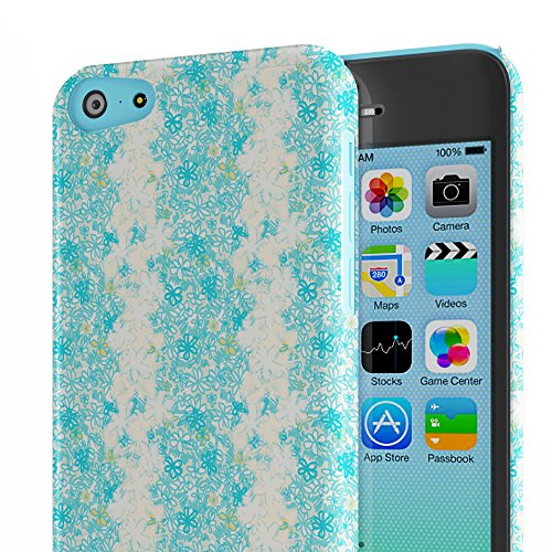 Koveru Back Cover Case for Apple iPhone 5C - Roughly Floral