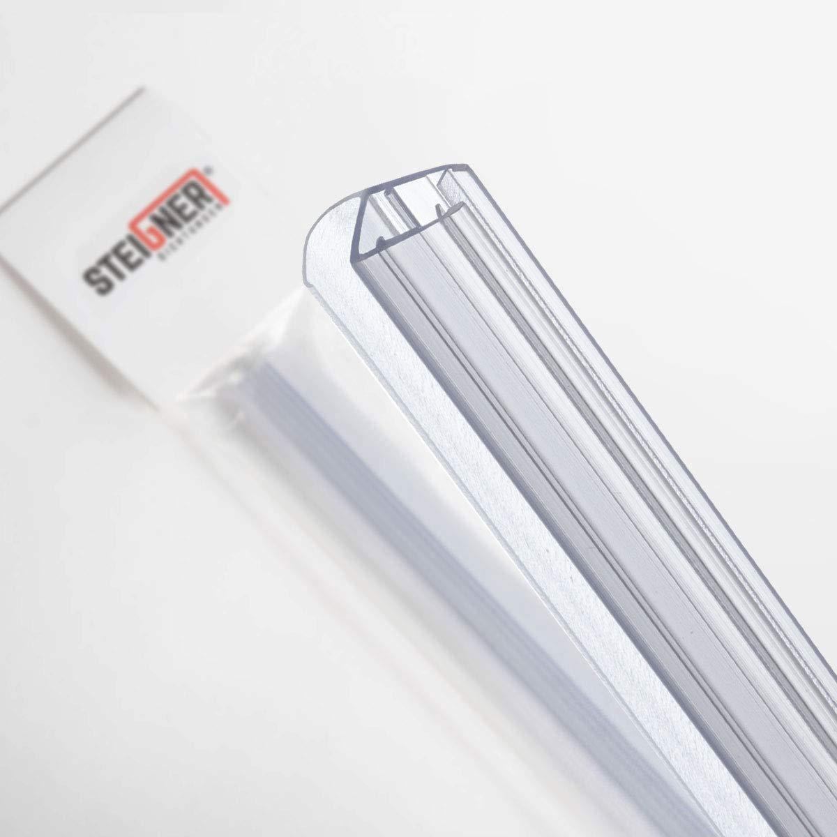 steigner 190/cm Joint de rechange pour 6/mm//7/mm//8/mm /épaisseur de verre douche D/éflecteurs dair eau Joint uk15/UPS Cascade Protection Cabine de douche