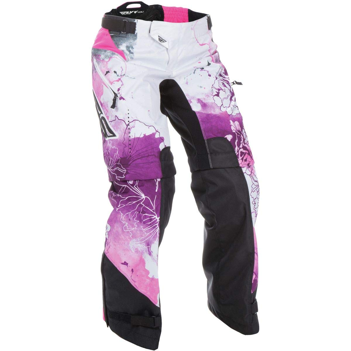 Fly Racing Unisex-Adult Kinetic Women's Over Boots Pants Pink/Purple Size 9/Size 10