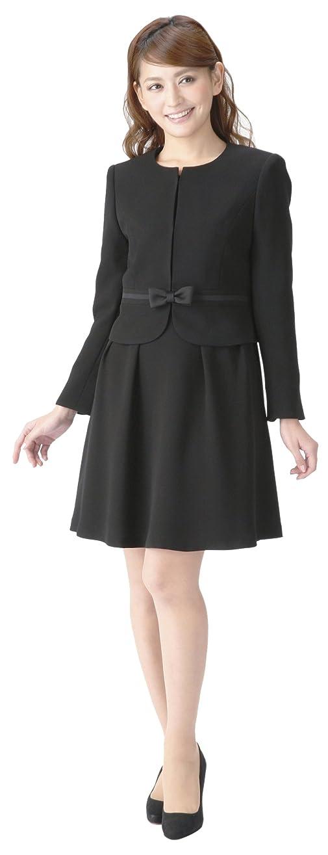 論文世辞外観(マーガレット)marguerite m617 ブラックフォーマル レディース スーツ 礼服