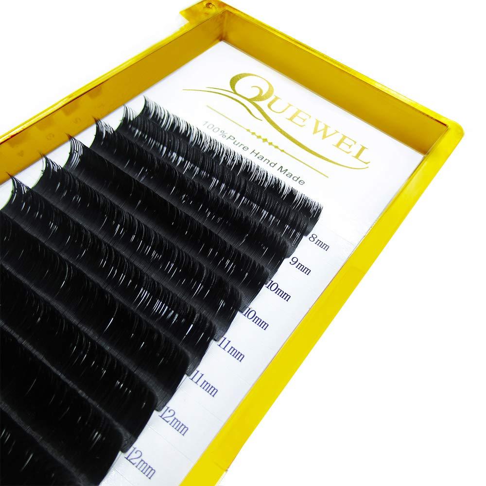 7fd35b6f488 Volume Eyelash Extensions Thickness 0.07 D Curl 8-15mm Mix Premade ...