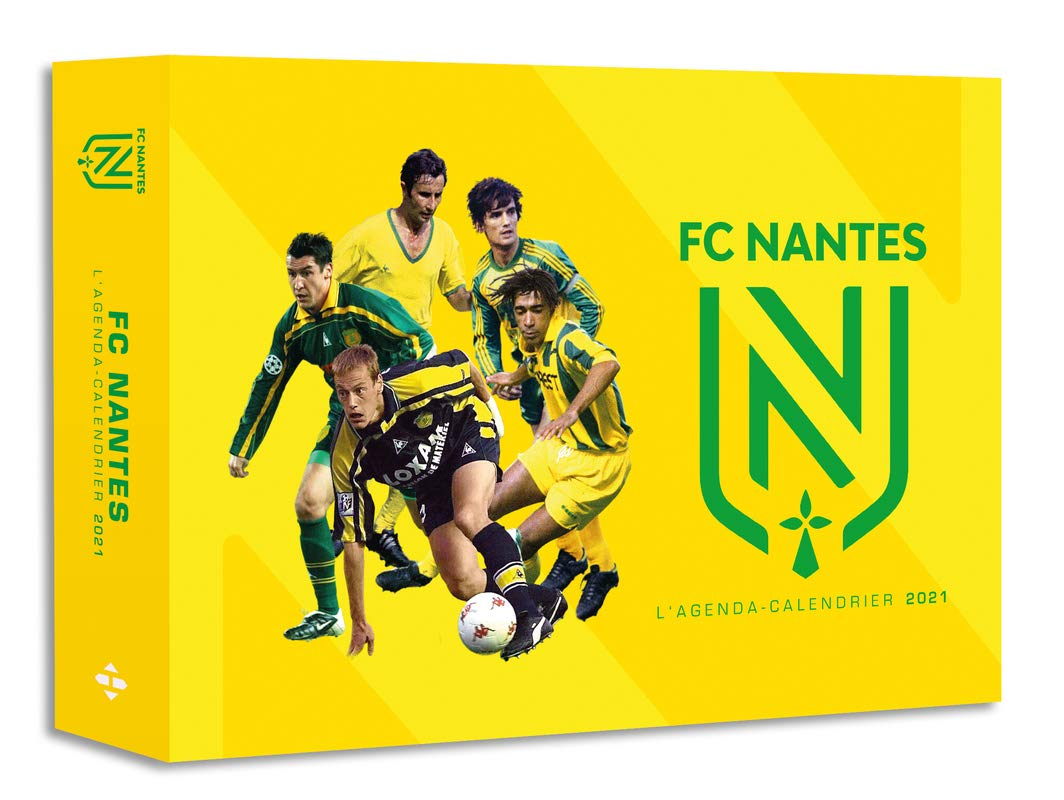 L'Agenda calendrier FC Nantes 2021: Amazon.co.uk: Collectif