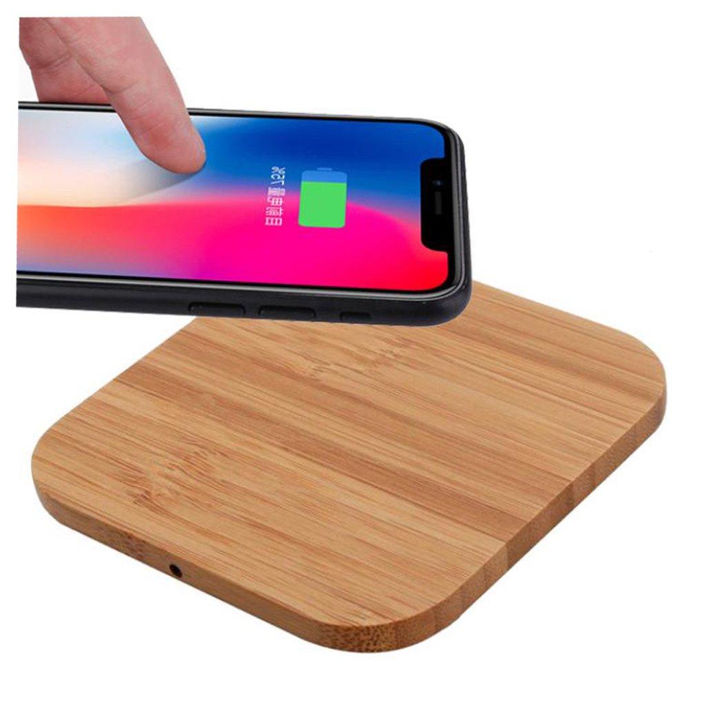 Para Iphone 8, Iphone 8 Plus, Iphone X - Sannysis cargador inalámbrico de carga rápido portable Qi wireless power cargador iphone Inalámbrico qi coche quick ...