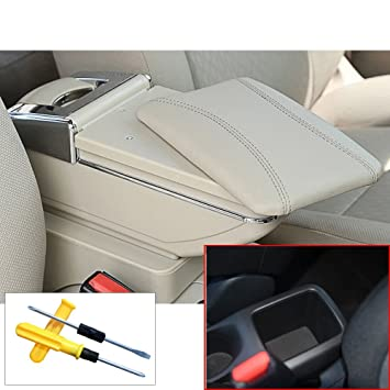 Mygone Custom Auto Armrest Center Console Storage Box And Cup Holder