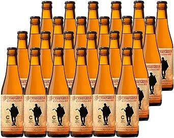Cervezas Enigma - Cervantes 400-24 botellas x 0,33 L: Amazon.es: Alimentación y bebidas