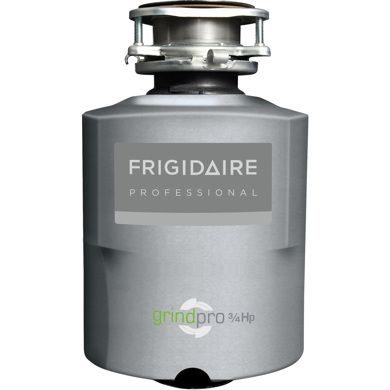 Frigidaire ¾ HP Disposer Batch Feed with direct wire FPDI758DMS Silver
