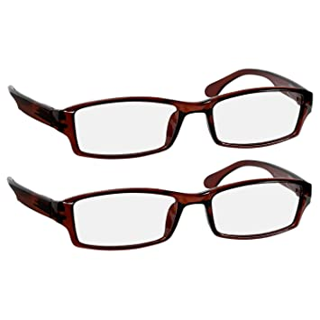 50b085152307 Reading Glasses 3.75 Brown (2 Pack) Best Readers for Men and Women - Stylish