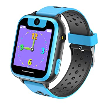 VANNICO Smartwatch Niños, Reloj Niños, Reloj Inteligente, Juegos de Pantalla táctil Smartswatch con Llamadas Cámara Digital para niños Niñas Niños ...
