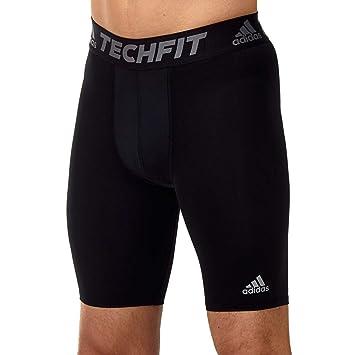 adidas Herren Tech Fit Base Tight Shorts: Sport & Freizeit