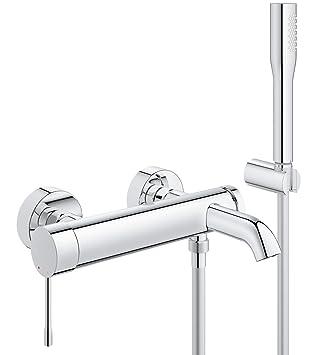 GROHE Essence 33628001 bain/douche à levier unique avec kit de ...