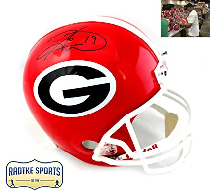 dafb79e0d6e Image Unavailable. Image not available for. Color: Hines Ward Autographed/Signed  Georgia Bulldogs ...