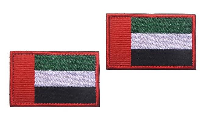 Amazon.com: Shanshan The United Arab Emirates FLAG PATCH adorns your hat uniform knapsack 2PCS (Color 5)