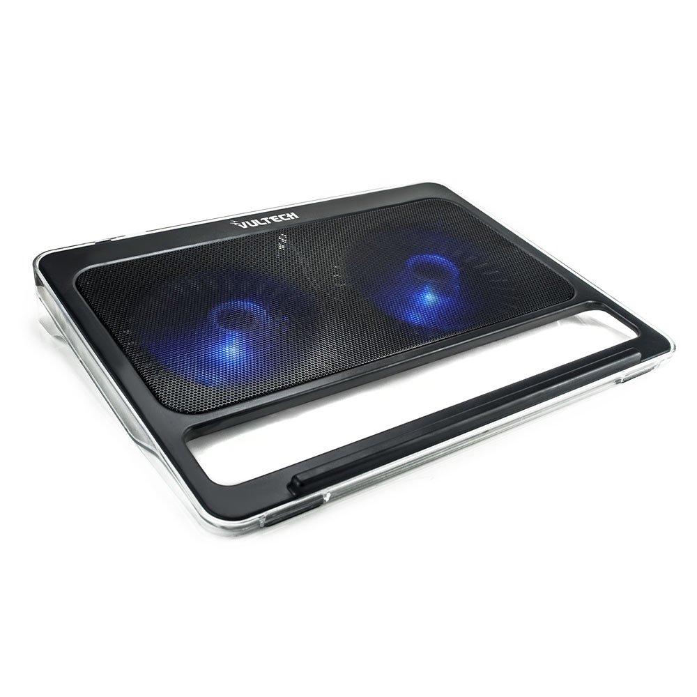 VULTECH SN-02 - Supporto per Notebook, ventola 12 cm, fino a 17 fino a 17