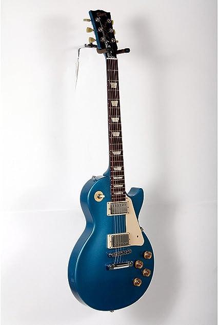Gibson 2016 guitarra eléctrica Les Paul Studio T Pelham azul ...