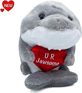 "Aurora - You are Jawsome 9"" Shark Plush Stuffed Toy"