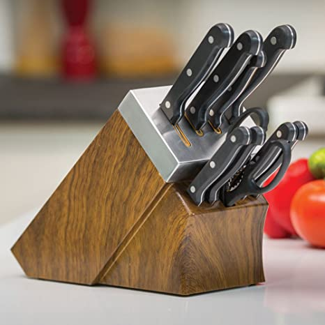 Amazon Com Chef S Edge Self Sharpening Cutlery Kitchen Dining