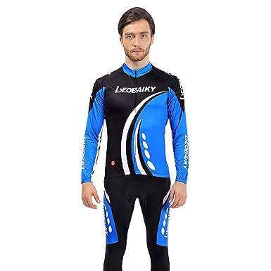 Amazon.com: EoCot - Conjunto de camiseta de ciclismo de ...