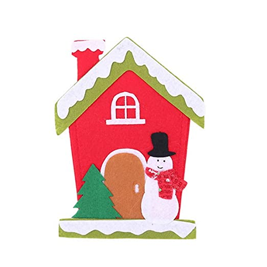 Santa Claus - Juego de cuchillos y tenedores para decoración ...