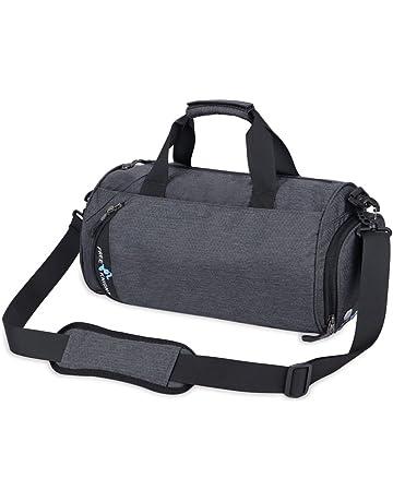 NACATIN Gym Bag, Waterproof Sports Duffle Bag Training Handbag with Shoe  Compartment,25L Large 544b18bdf6