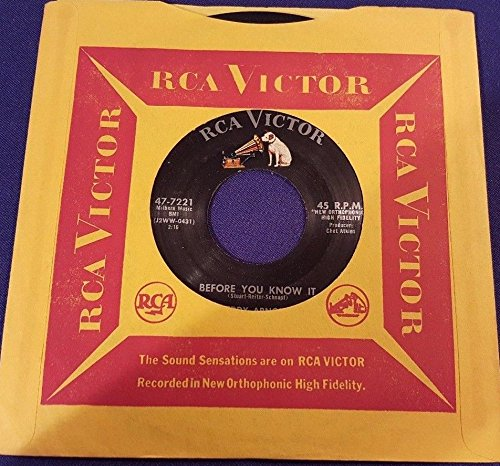 EDDY ARNOLD Peck-a-Cheek/Before You Know It 45 Record RCA Victor - 47 Peck