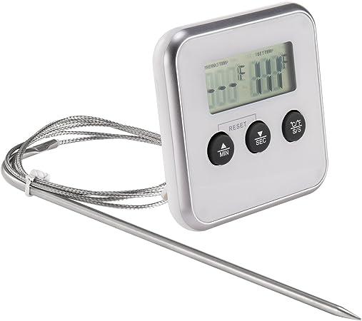 Yokamira Thermometre De Cuisine Thermo Sonde De Cuisson Avec