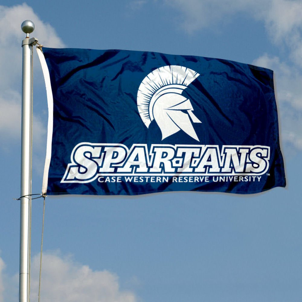 College Flags and Banners Co Case Western Reserve Spartans Flag