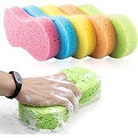 Phiraggit Autospons, autospons, autospons, reiniging spons, microvezel-wax, voor de keuken met vacuümverpakking, 5…