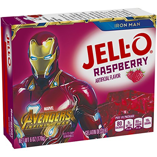 Jell-O Raspberry Gelatin Dessert Mix, 6 oz Box by Jell-O (Image #3)
