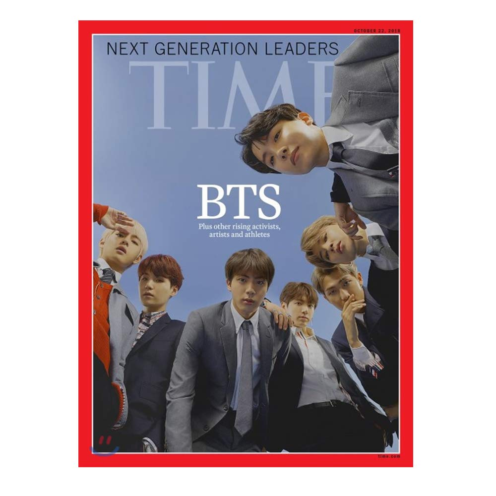 TIME Magazine Asia October 22, 2018 (BTS Magazine Interview)