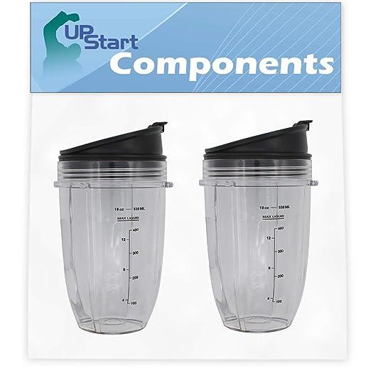 Upstart Components - Juego de 2 tazas de repuesto de 18 ...