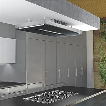 Campana Cocina Airforce en islote Gemma 120 cm: Amazon.es: Grandes electrodomésticos