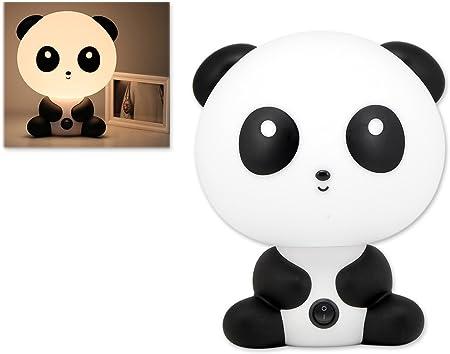 Yodesi Beau Dessin Animé De Kungfu Panda Forme Portable De Bureau De Lampe De Lumière De Lampe