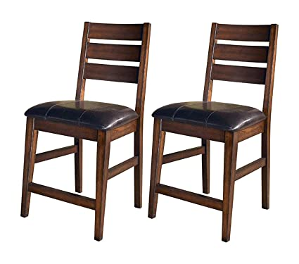 Fabulous Amazon Com Premium Larchmont Barstool Set Pub Height Ncnpc Chair Design For Home Ncnpcorg