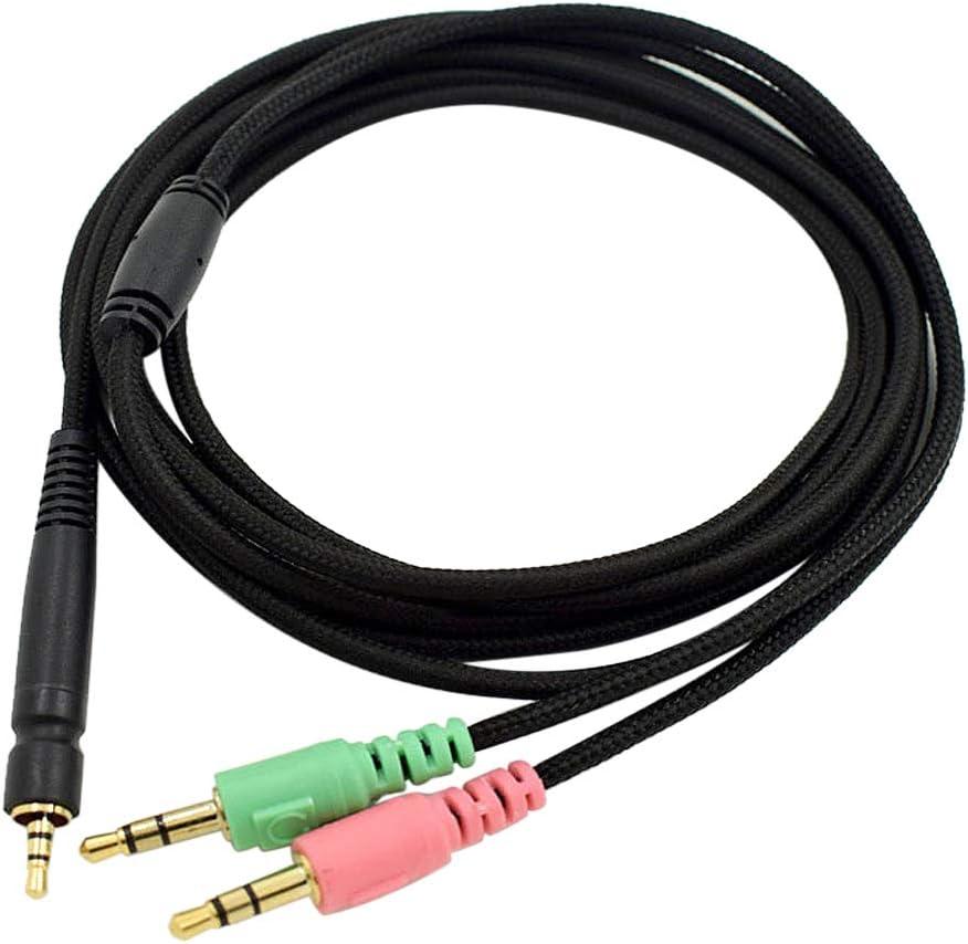 Versi/ón de computadora XIZONLIN Cable Audio de Repuesto para Sennheiser G4ME One//Game Zero//PC 373D GSP350 500 Auriculares