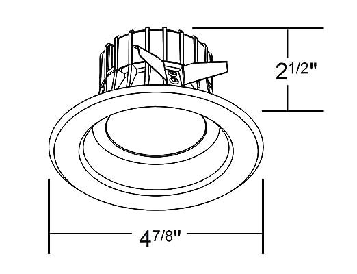 Amazon Com Nicor Lighting 4 Inch Dimmable 2700k Led Remodel