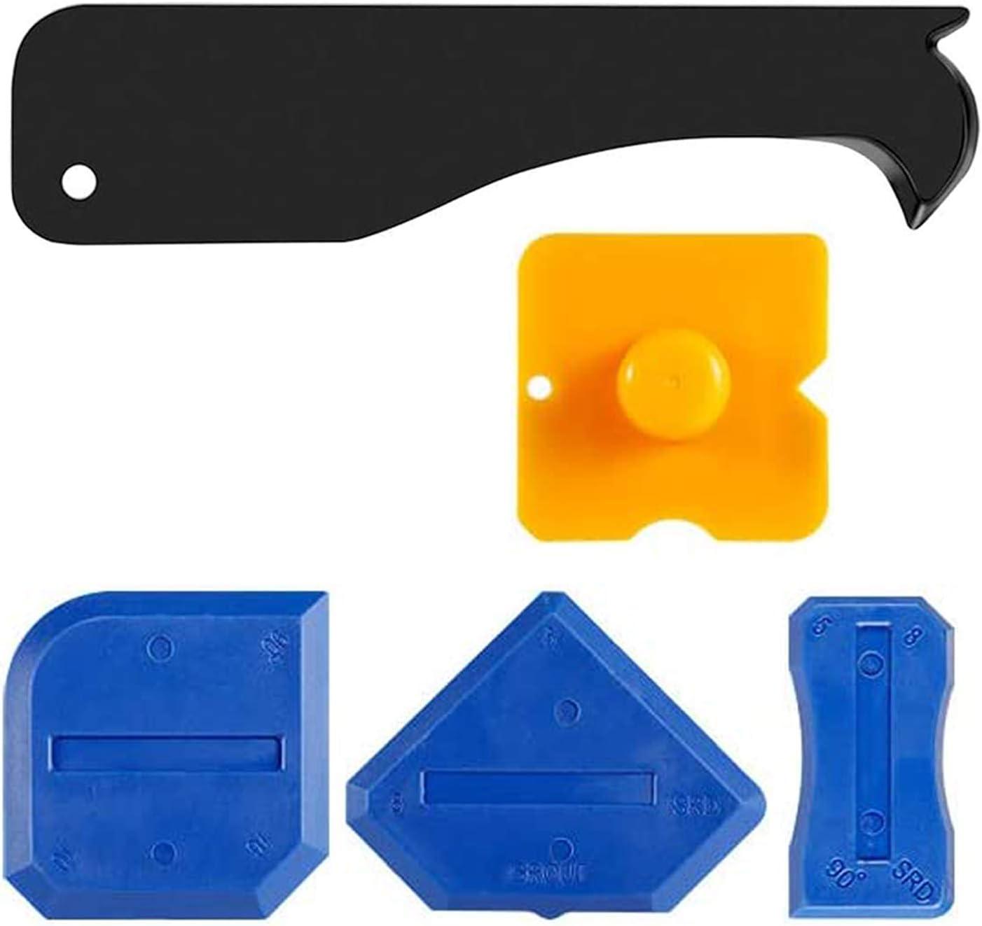 cocina rascador de silicona herramienta de acabado de calafateo para ba/ño Raspador de silicona 3 en 1