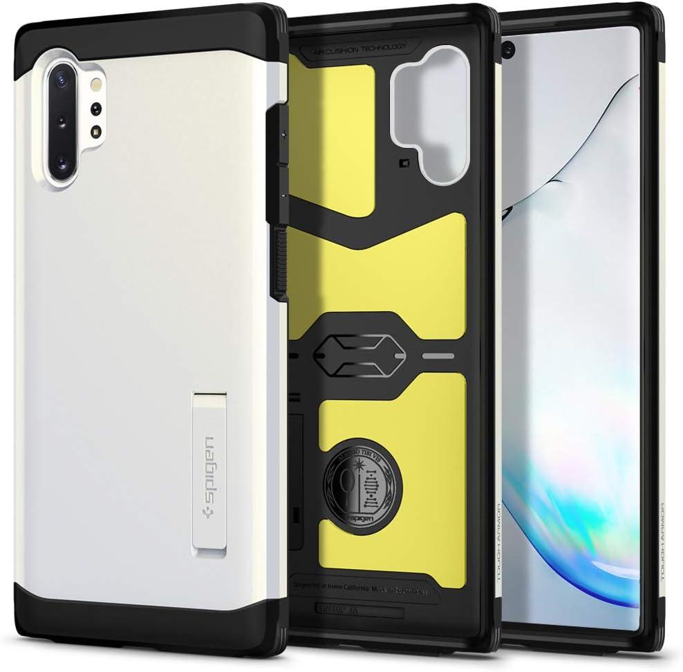 Spigen Tough Armor Designed for Samsung Galaxy Note 10 Plus Case/Galaxy Note 10 Plus 5G Case (2019) - Glow White