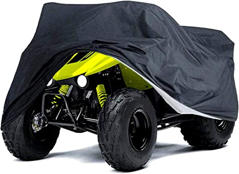 Quad Bike ATV Cover Outdoor Rain Dust Protector Waterproof Anti-UV M