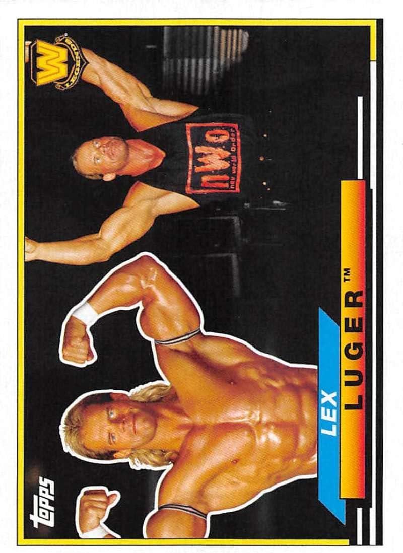 2018 Topps Heritage WWE Big Legends #BL-30 Lex Luger Wrestling Card