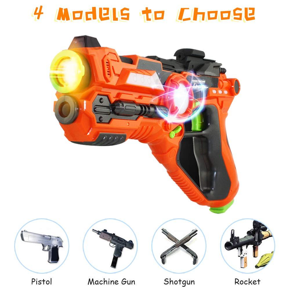 Laser Tag-Laser X Recoil Laser Tag Lasers Gun Toy Gun Set 2-Player Space Blaster Toys for Boy Gift Laser Tag Sets with Gun Games by Toyard (Image #5)