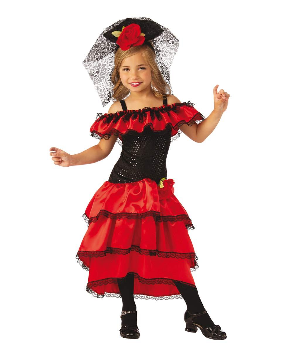 Horror-Shop Traje De Bailaor Flamenco Español para Niños L ...