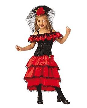 Horror-Shop Traje De Bailaor Flamenco Español para Niños L: Amazon ...